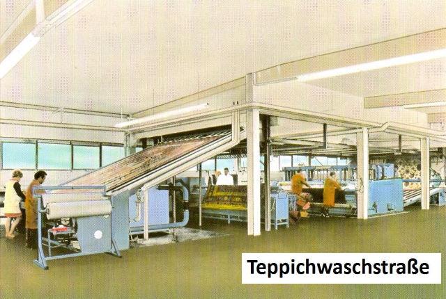 Teppichwäsche